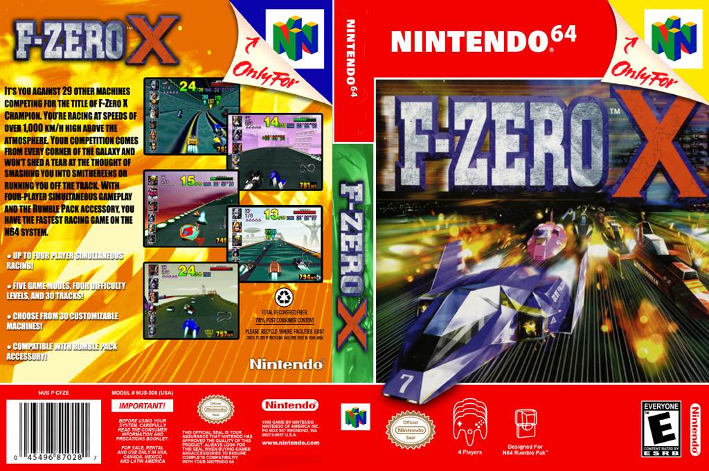 F-Zero X Wii coverfullHQ2 (NAFE)