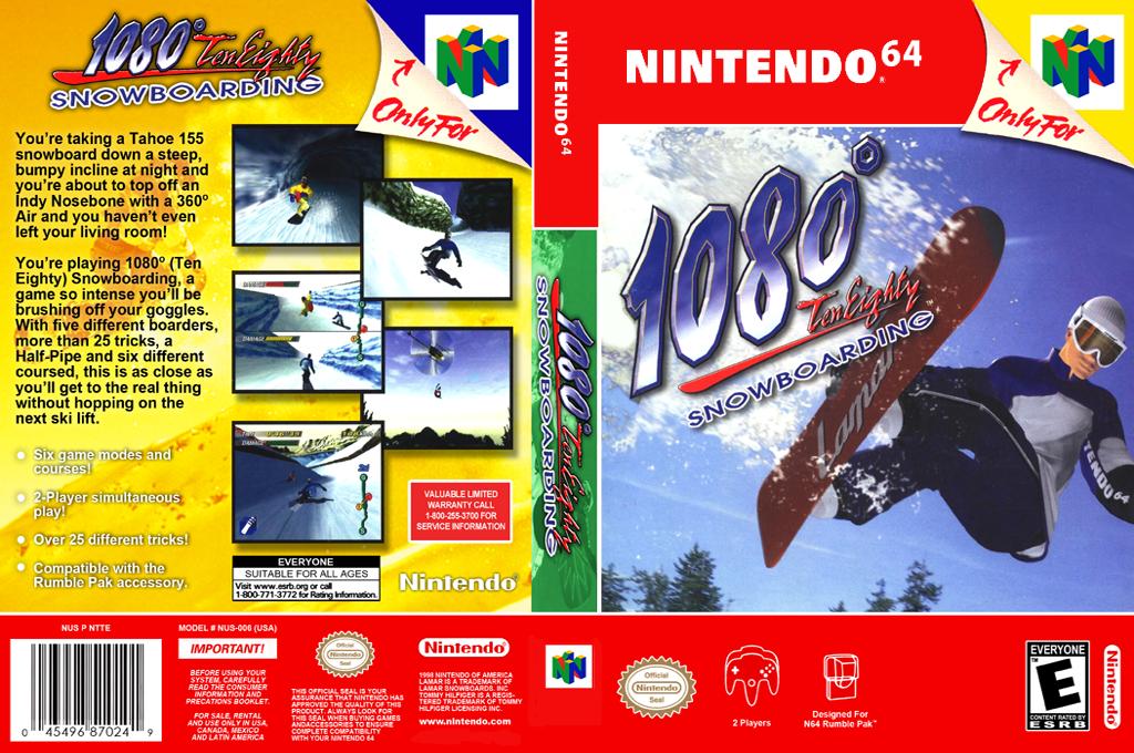 1080° Snowboarding Wii coverfullHQ2 (NAOE)