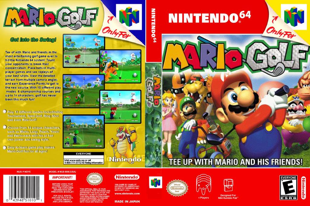 Mario Golf Wii coverfullHQ2 (NAUE)