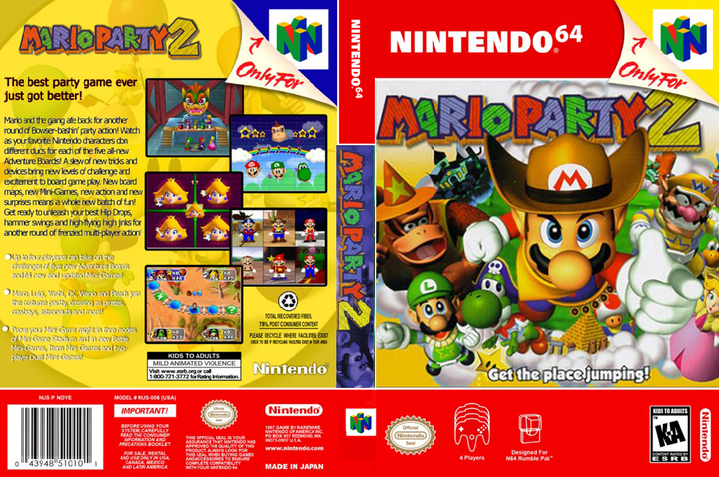 Mario Party 2 Wii coverfullHQ2 (NAZE)