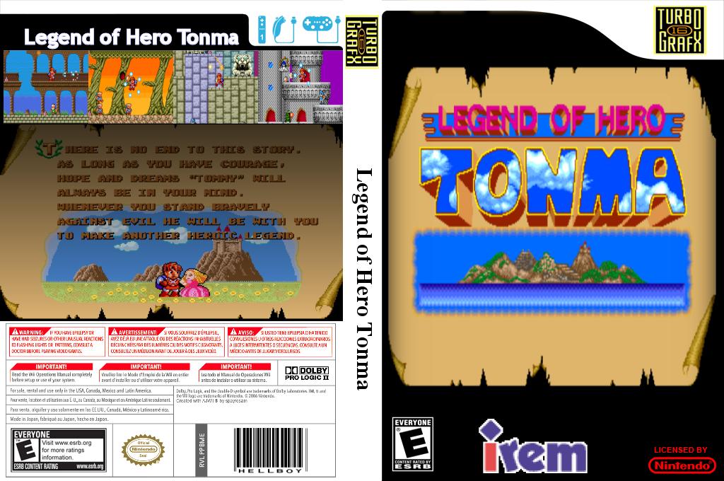 Legend of Hero Tonma Wii coverfullHQ2 (PBME)