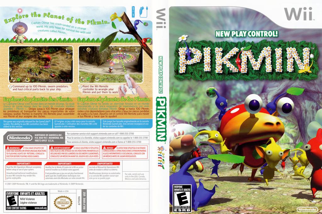 Pikmin Wii coverfullHQ2 (R9IE01)