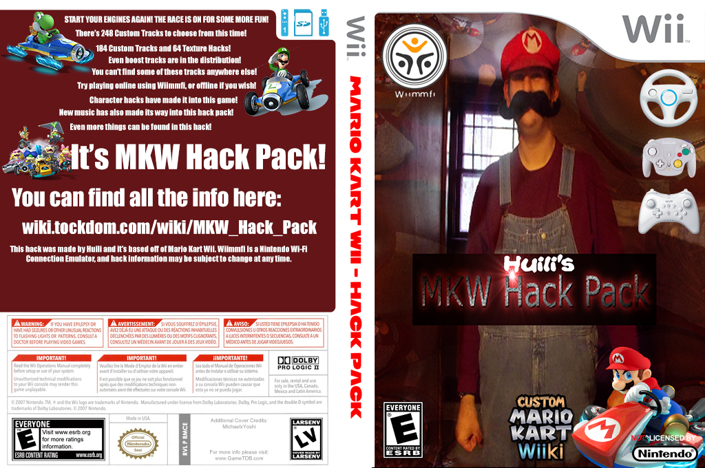 MKW Hack Pack Wii coverfullHQ2 (RMCE93)