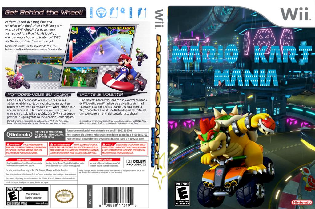 Mario Kart Mania Wii coverfullHQ2 (RMCEB8)