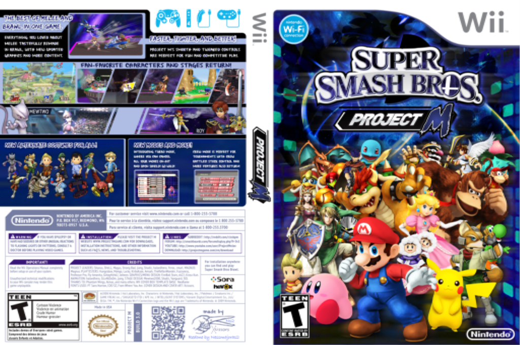 Marlan Project M 3.6 Wii coverfullHQ2 (RSBE08)