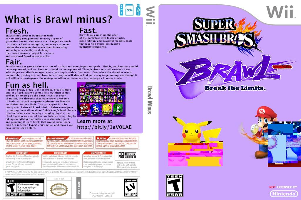 Super Smash Bros. Brawl Minus Wii coverfullHQ2 (RSBEBM)