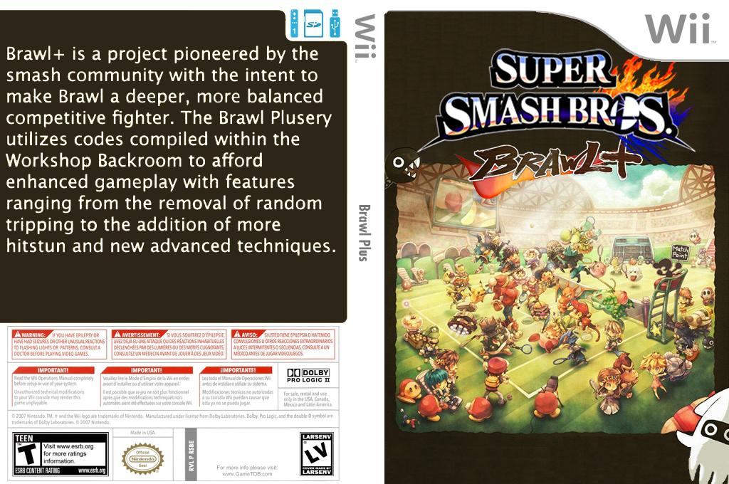 Super Smash Bros. Brawl Plus Wii coverfullHQ2 (RSBEBP)