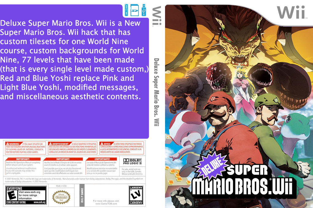 Deluxe Super Mario Bros. Wii Wii coverfullHQ2 (SMNEXD)