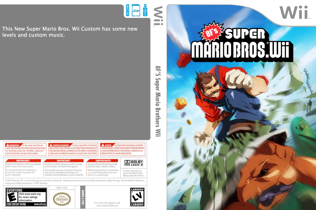 8Forrest's Super Mario Bros. Wii Wii coverfullHQ2 (SMNEYE)