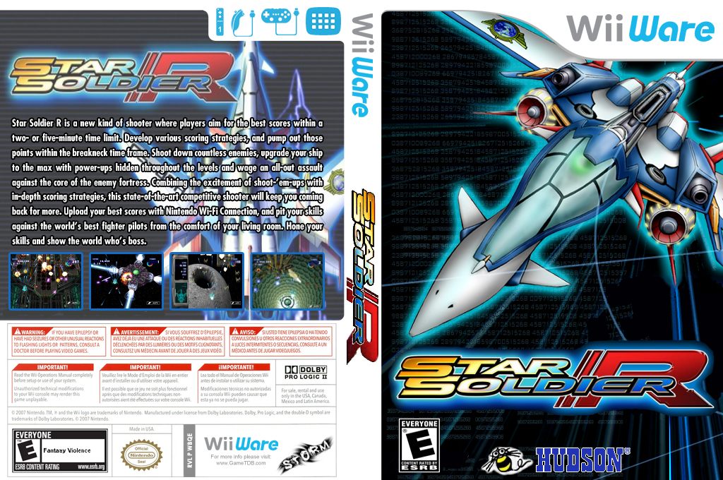 Star Soldier R Wii coverfullHQ2 (WBQE)