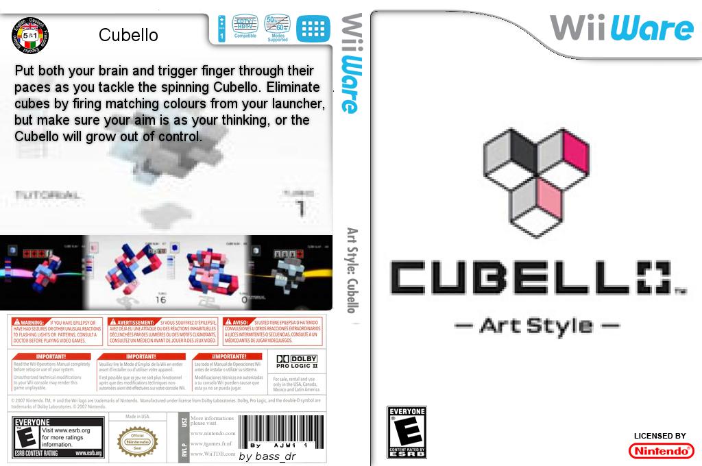 Art Style: Cubello Wii coverfullHQ2 (WPRE)