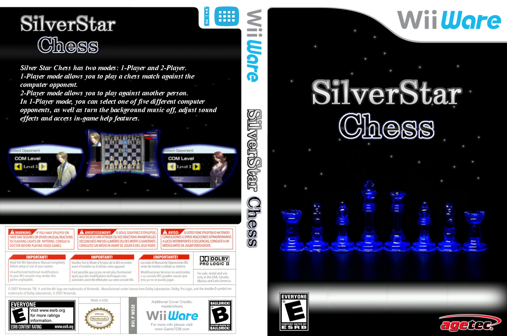Silver Star: Chess Wii coverfullHQ2 (WS3E)