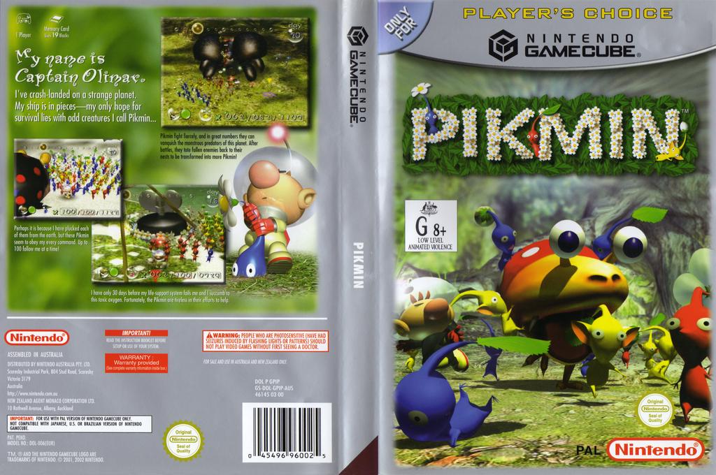 Pikmin Wii coverfullHQB (GPIP01)