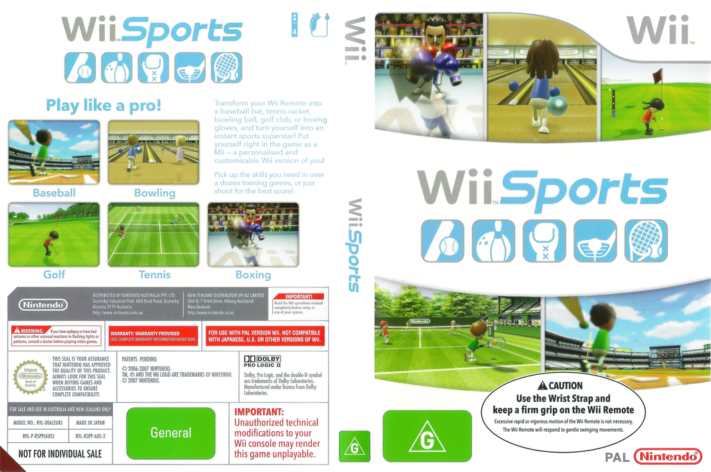 Wii Sports Wii coverfullHQB (RSPP01)