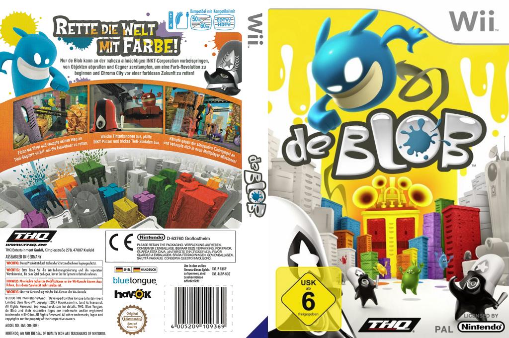de Blob Wii coverfullHQB (R6BP78)