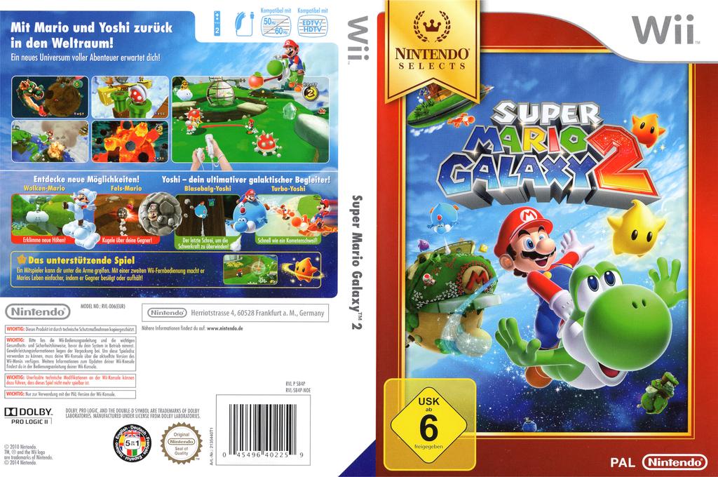 Super Mario Galaxy 2 Wii coverfullHQB (SB4P01)