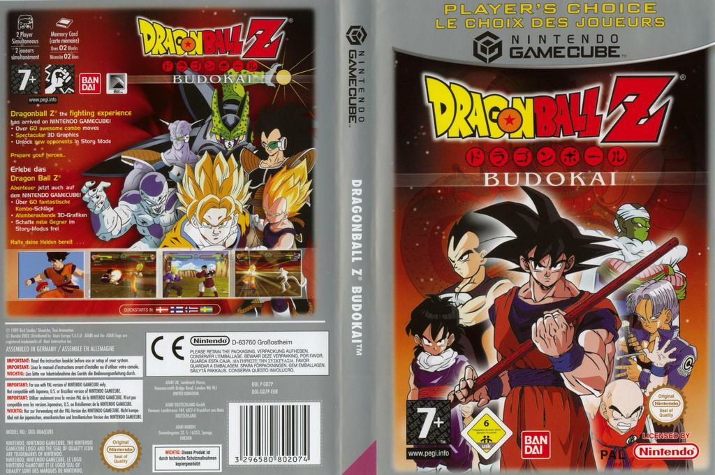 Dragon Ball Z: Budokai Wii coverfullHQB (GD7PB2)