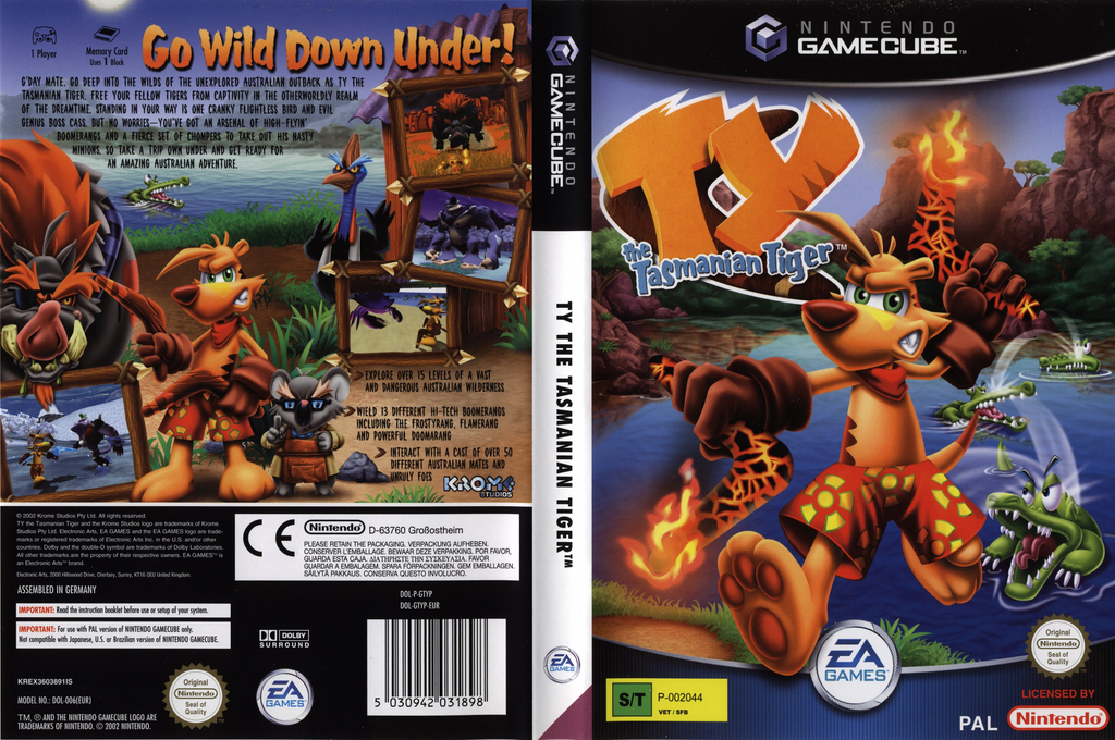 Tythe Tasmanian Tiger Wii coverfullHQB (GTYP69)