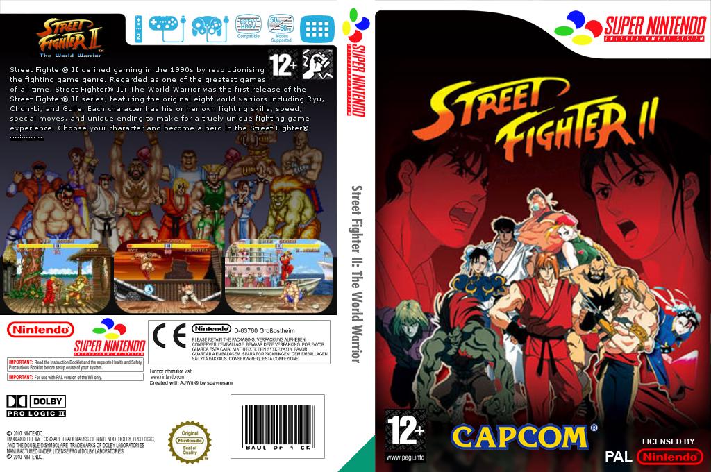 Street Fighter II: The World Warrior Wii coverfullHQB (JAJP)