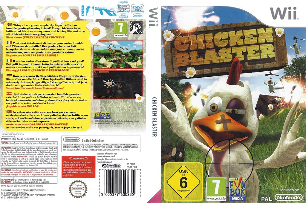Chicken Blaster Wii coverfullHQB (R8LP7J)