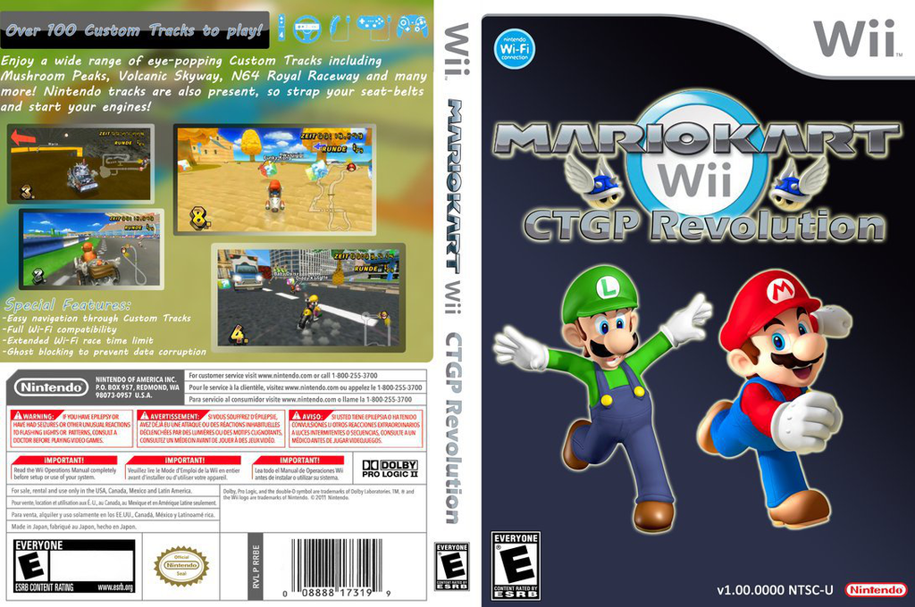 Rmcpg2 Mario Kart Wii Ctgp Revolution