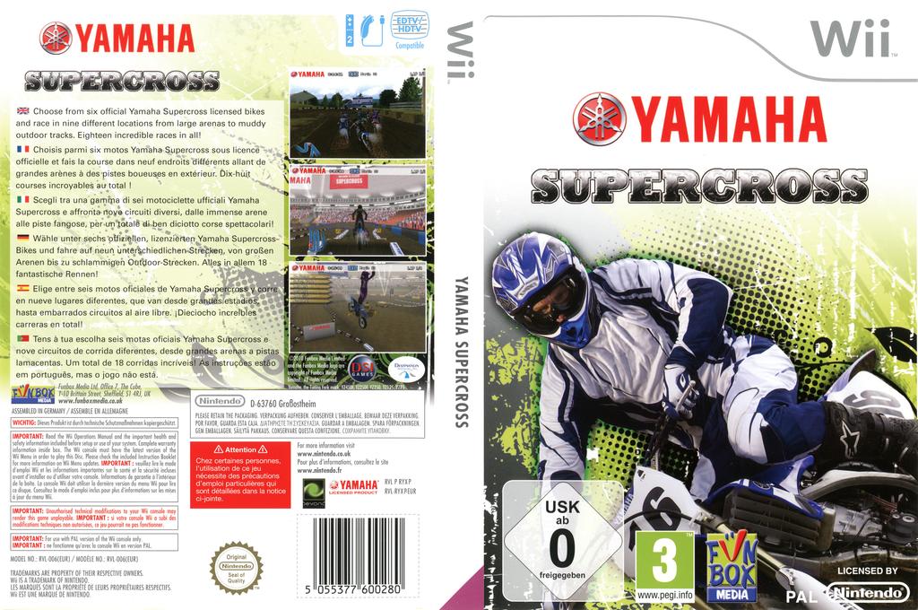Yamaha Supercross Wii coverfullHQB (RYXP7J)