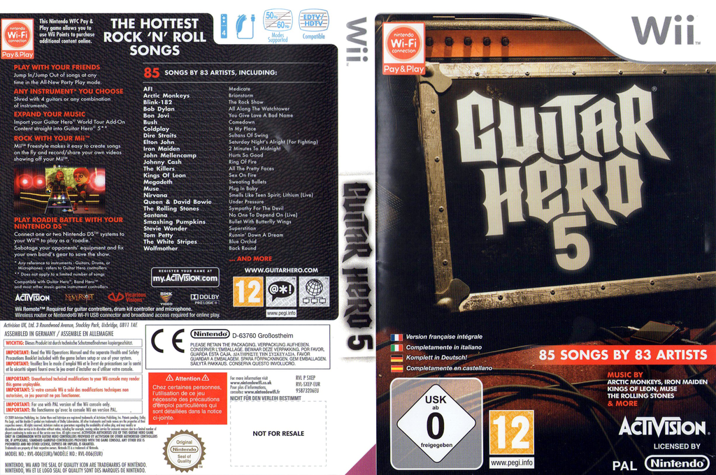 Guitar Hero 5 Wii coverfullHQB (SXEP52)