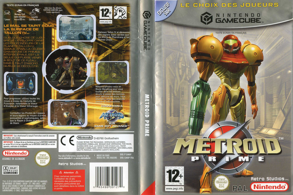 Metroid Prime Wii coverfullHQB (GM8P01)