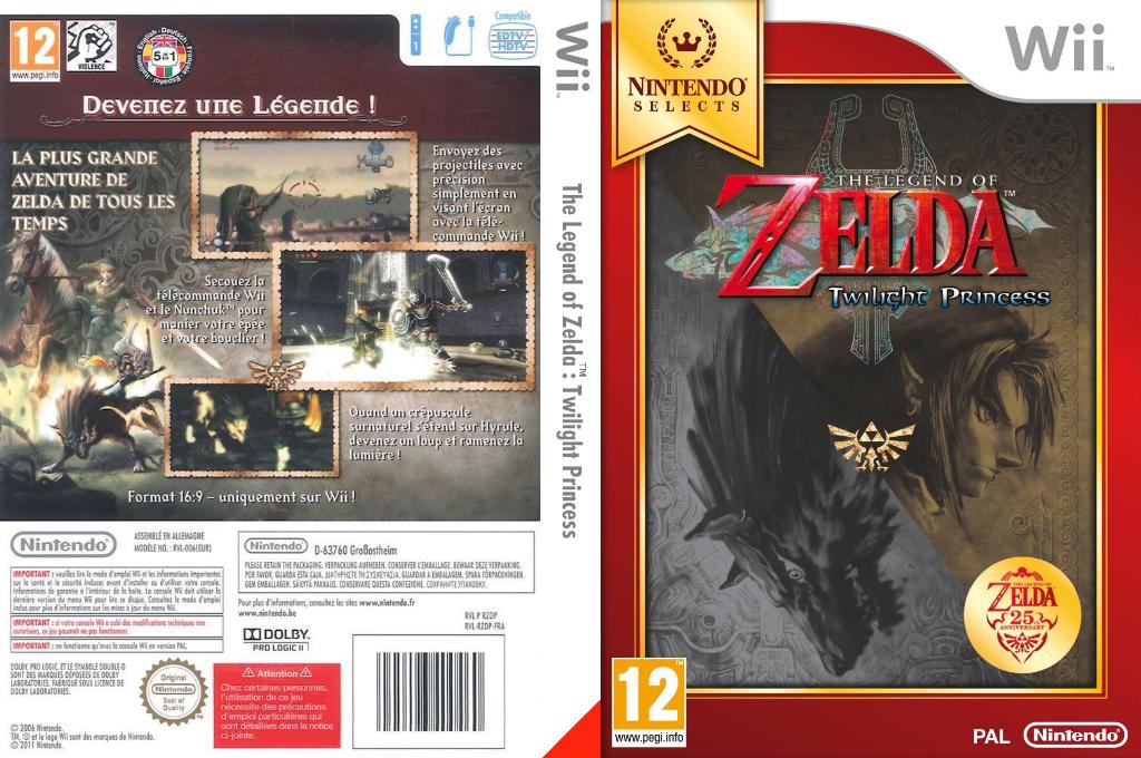 The Legend of Zelda :Twilight Princess Wii coverfullHQB (RZDP01)