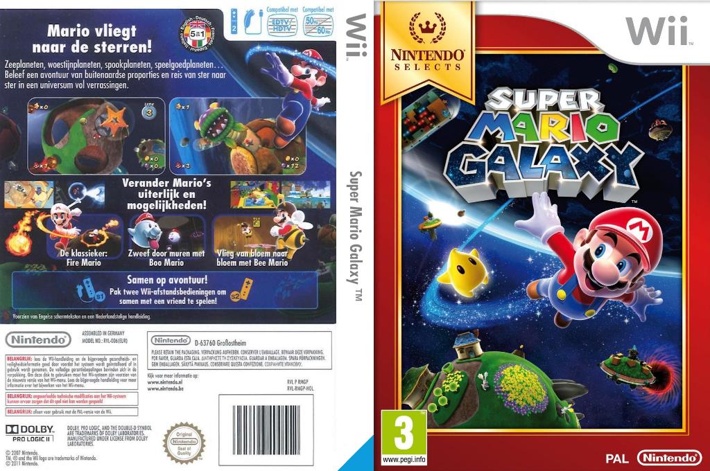 Super Mario Galaxy Wii coverfullHQB (RMGP01)