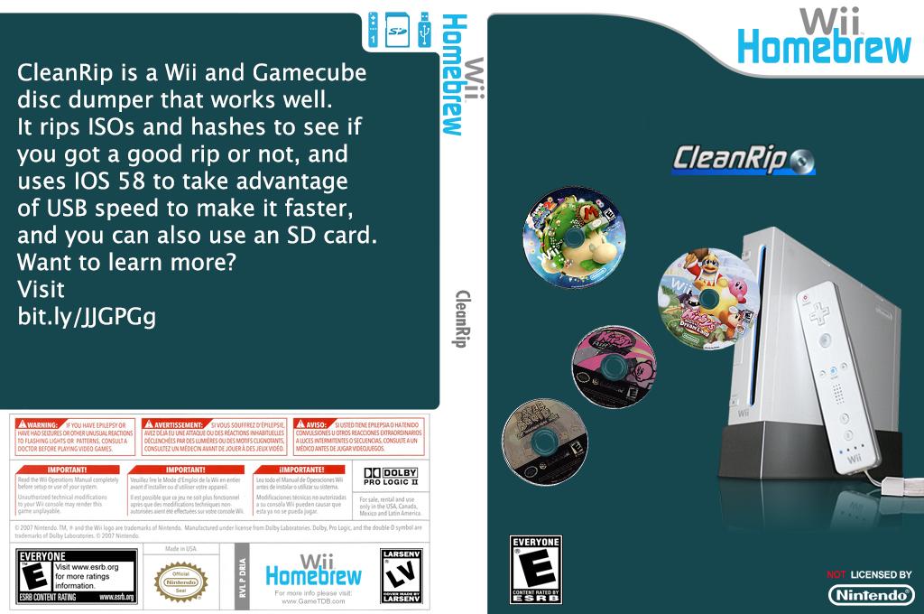 Cleanrip Wii coverfullHQB (DRIA)
