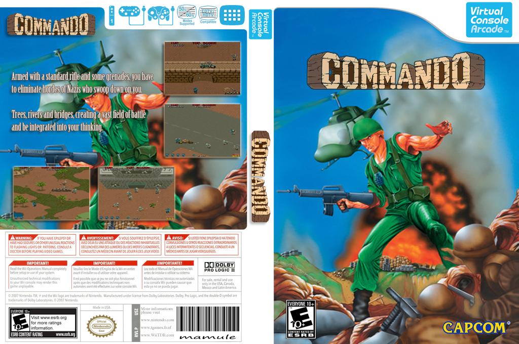 Commando Wii coverfullHQB (E55E)