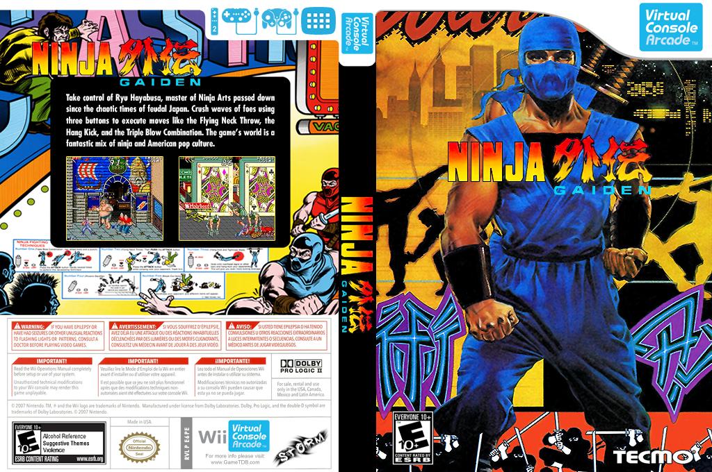 Ninja Gaiden Wii coverfullHQB (E6PE)