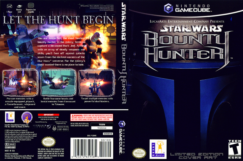 Star Wars Bounty Hunter Wii coverfullHQB (GBWE64)