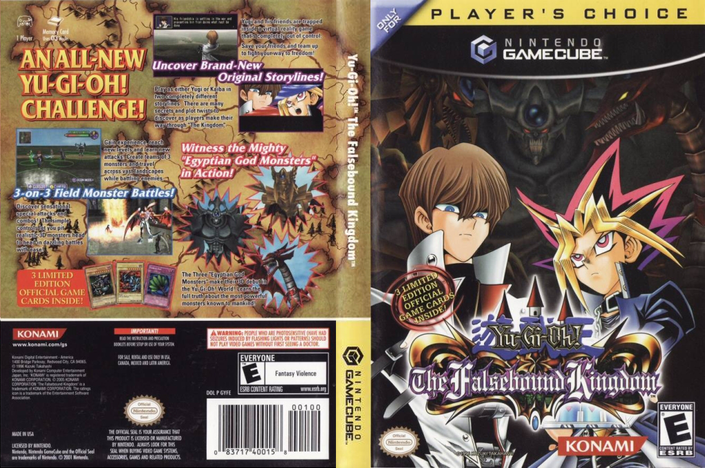 Yu-Gi-Oh! The Falsebound Kingdom Wii coverfullHQB (GYFEA4)