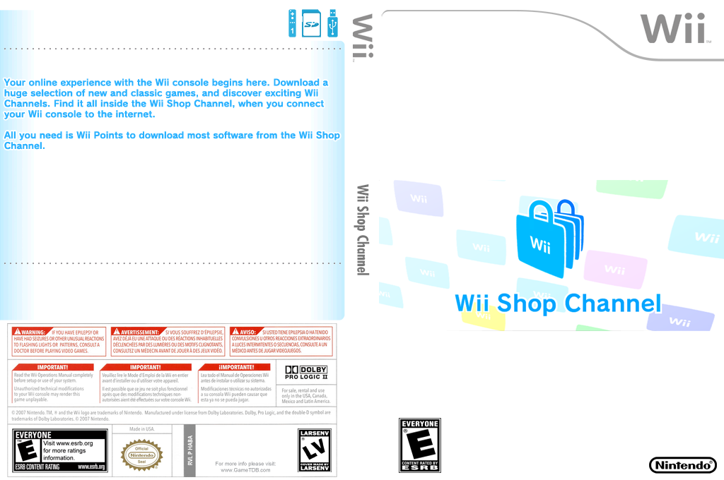 Wii Shop Channel Wii coverfullHQB (HABA)