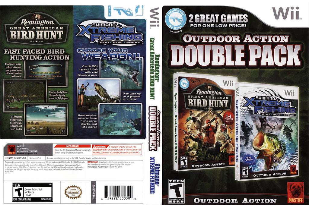 Shimano Xtreme Fishing Wii coverfullHQB (R39EFP)