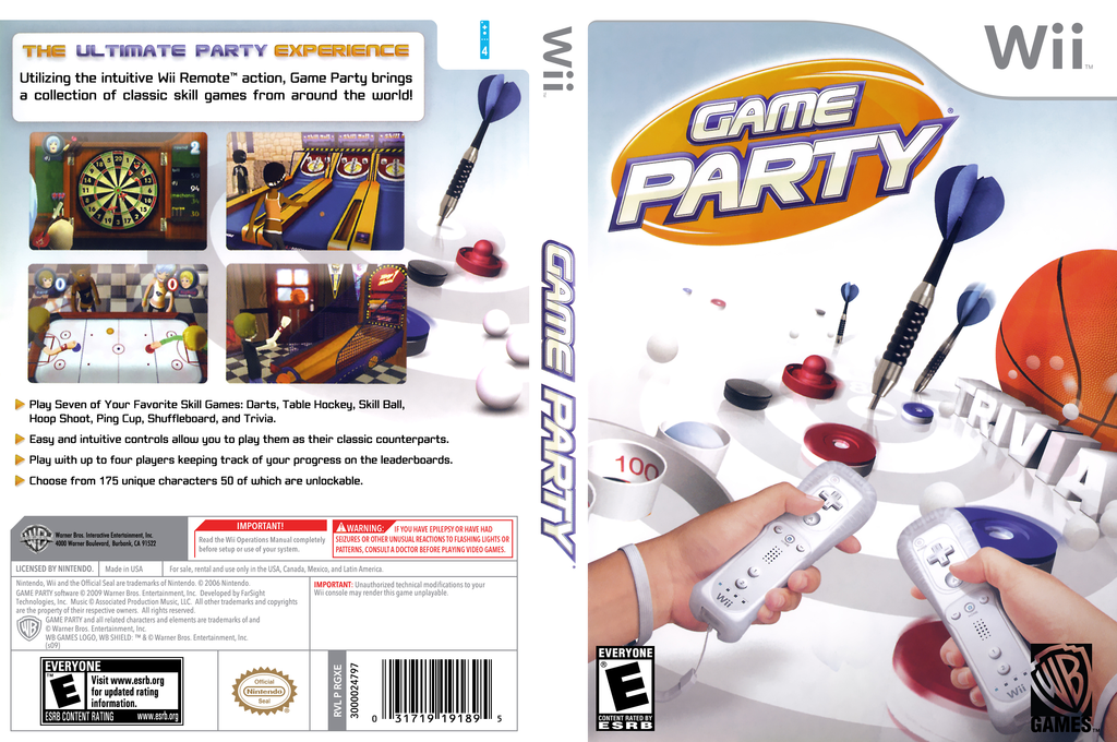 Game Party Wii coverfullHQB (RGXE5D)