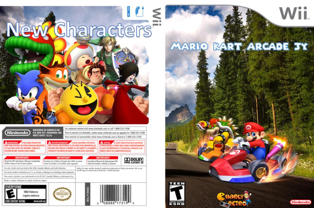 Mario Kart Arcade JY Wii coverfullHQB (RMCEA8)