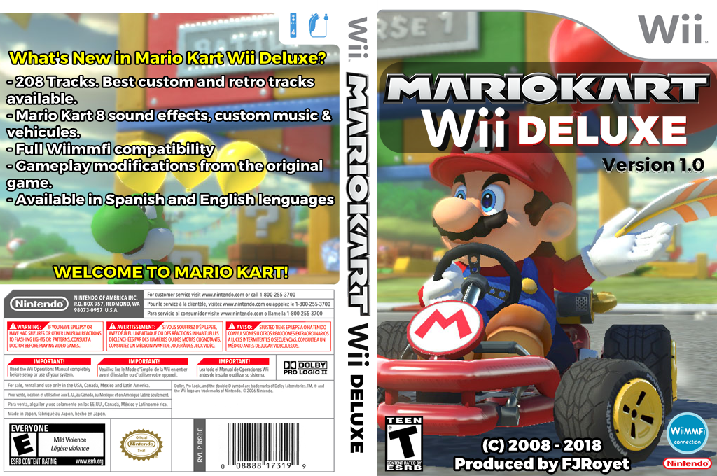 rmceb4 mario kart wii deluxe. Black Bedroom Furniture Sets. Home Design Ideas
