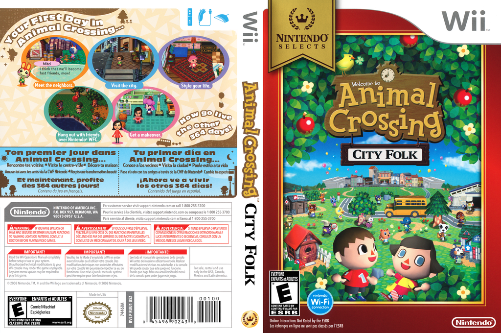 Ruue01 animal crossing city folk for Agrandissement maison animal crossing wii