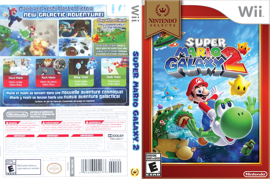 Super Mario Galaxy 2 Wii coverfullHQB (SB4E01)
