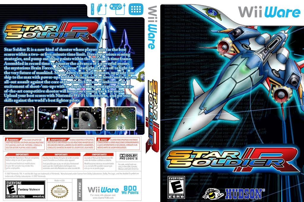 Star Soldier R Wii coverfullHQB (WBQE)