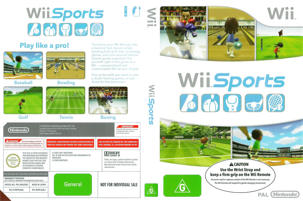 Wii Sports Wii coverfullHQB2 (RSPP01)