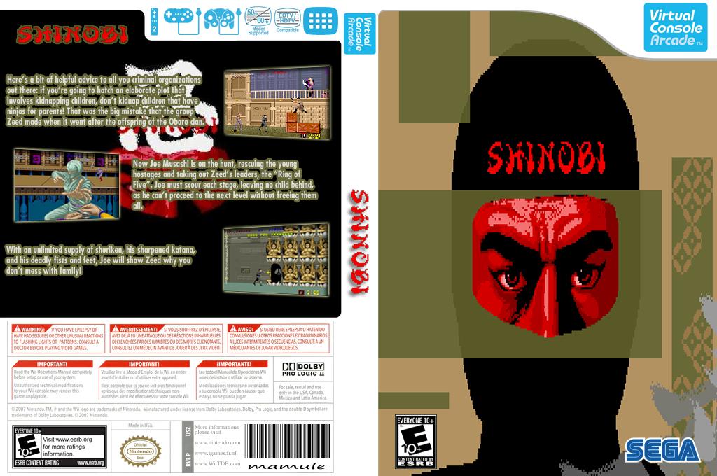 Shinobi Wii coverfullHQB2 (E63E)