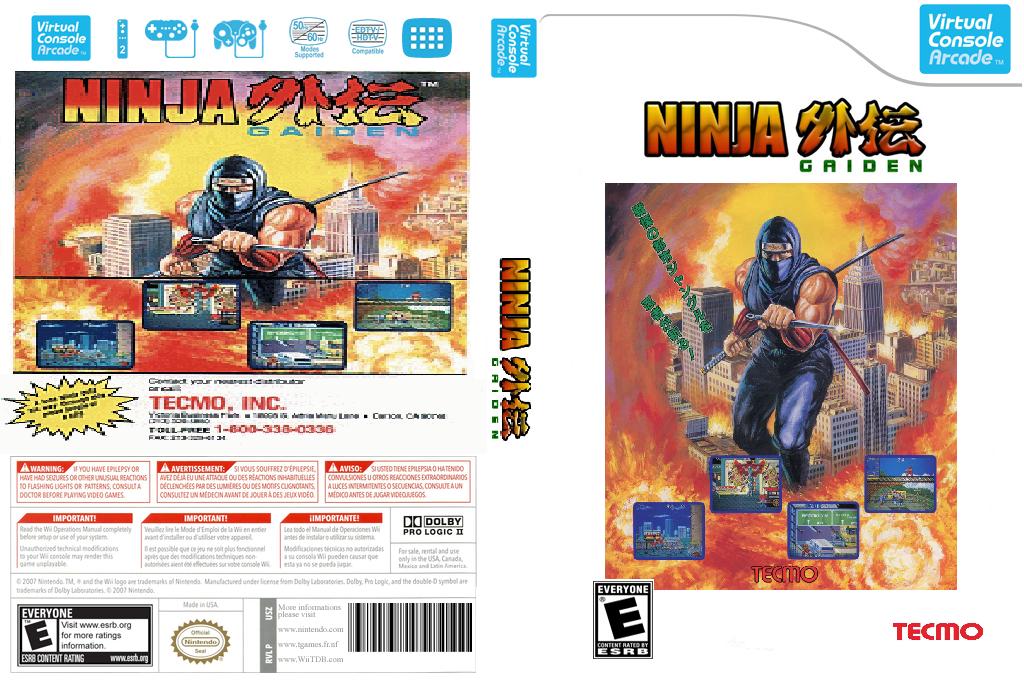 Ninja Gaiden Wii coverfullHQB2 (E6PE)