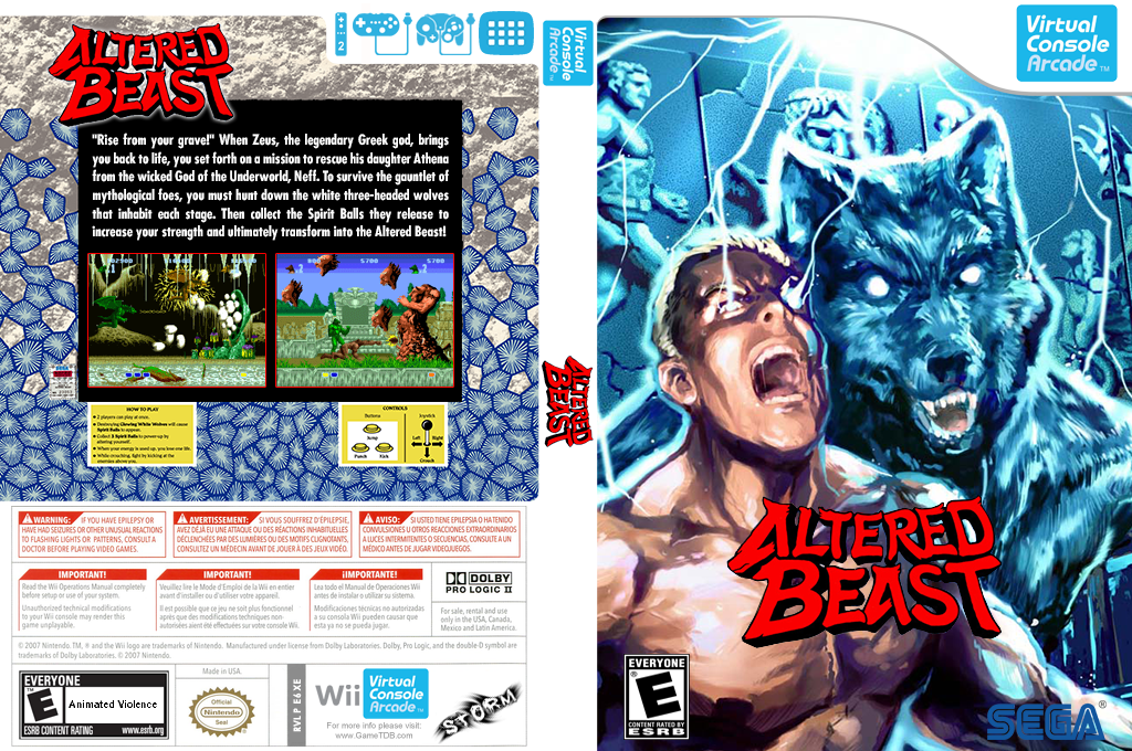 Altered Beast Wii coverfullHQB2 (E6XE)