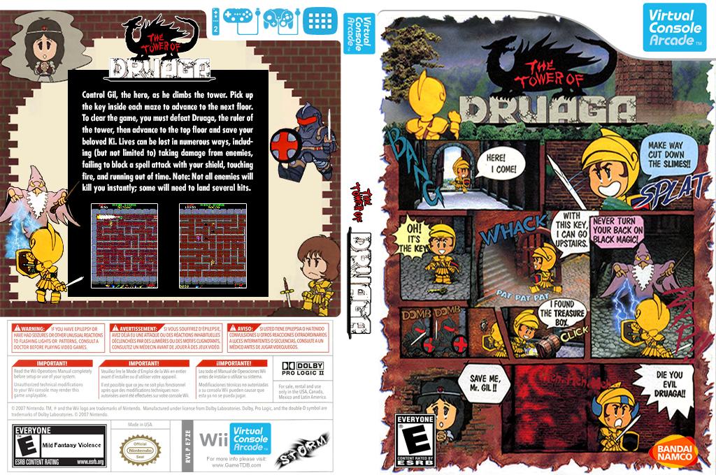 The Tower of Druaga Wii coverfullHQB2 (E7ZE)