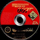 007: Liebesgrüsse aus Moskau GameCube disc (GLZD69)