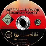 Medal of Honor: European Assault GameCube disc (GOND69)